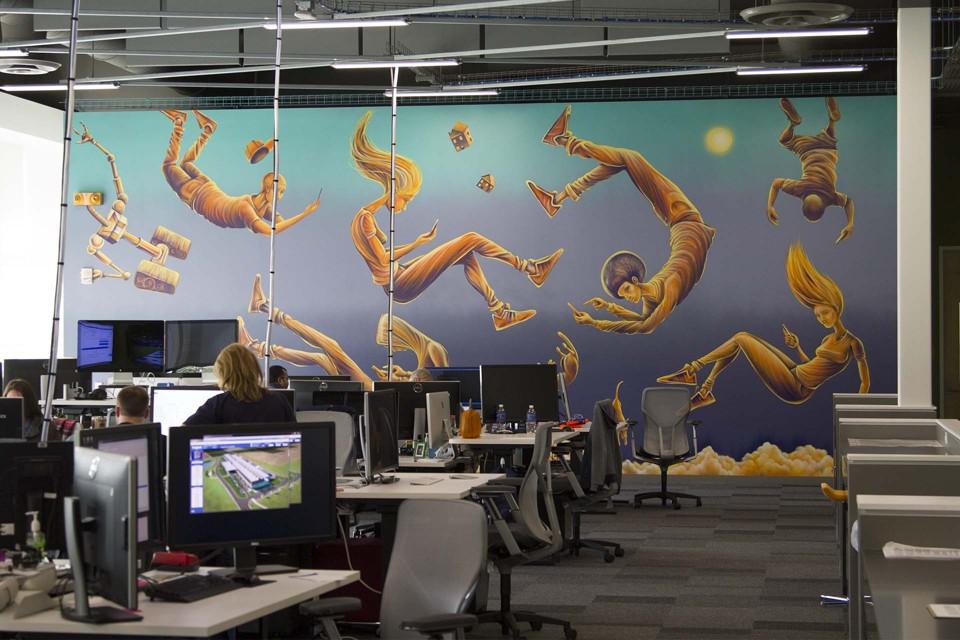 facebook office interior. most popular facebook office interior
