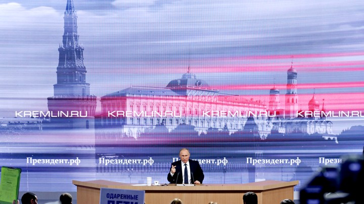 Russia 20th century world domination