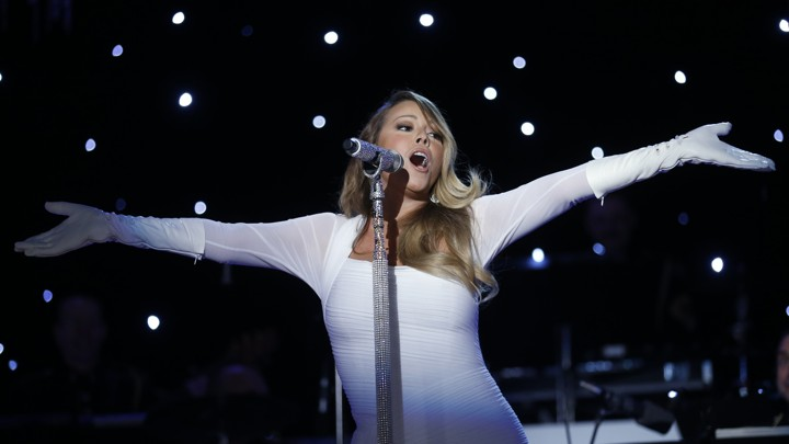 Mariah Carey All I Want For Christmas Mic Feed.12 Days Of Christmas Songs Mariah Carey S All I Want For