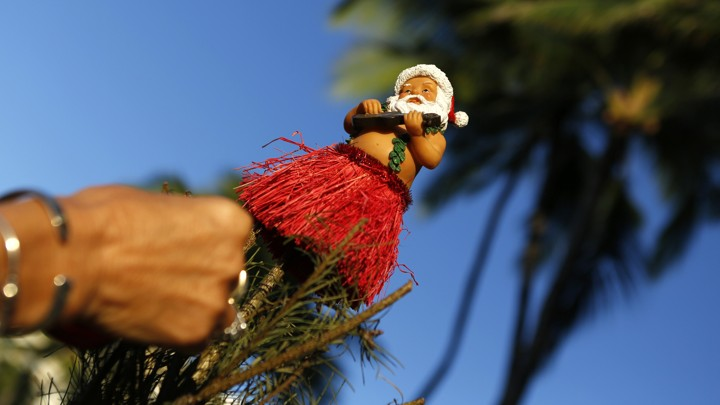 kevin lamarque reuters - Hawaiian Merry Christmas Song