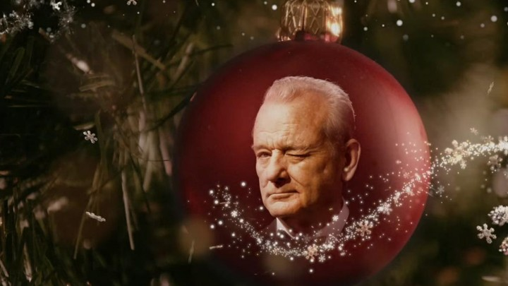 Murray Christmas.In Netflix S A Very Murray Christmas Bill Murray And