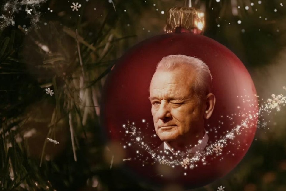 In Netflix's 'A Very Murray Christmas,' Bill Murray and Sofia ...