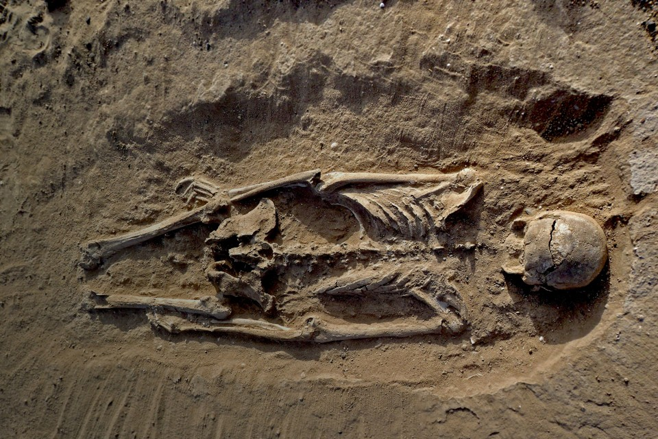 A Prehistoric Mass Grave Suggests Hunter-Gatherers Weren't