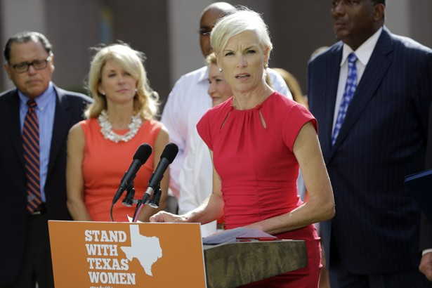 """... how fierce the opposition, there's one thing that the past few years  have shown,"""" said President Obama, """"that Planned Parenthood is not going  anywhere."""