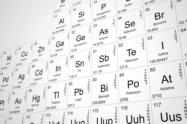 The Periodic Table Is Getting Four New Elements - The Atlantic