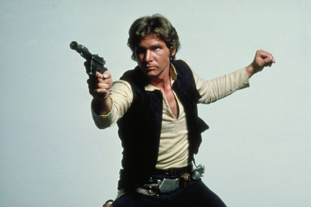 Harrison Ford som Han Solo