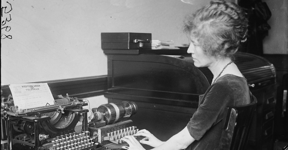 Can You Still Send a Telegram? - The Atlantic