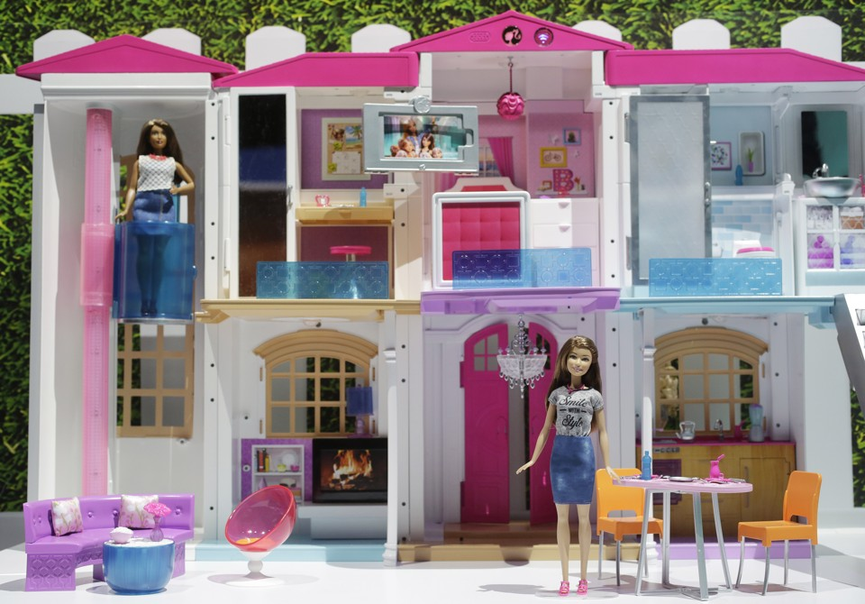 Barbieu0027s New Dream House, Complete With Colorful Furniture And Wi Fi Mark  Lennihan / AP