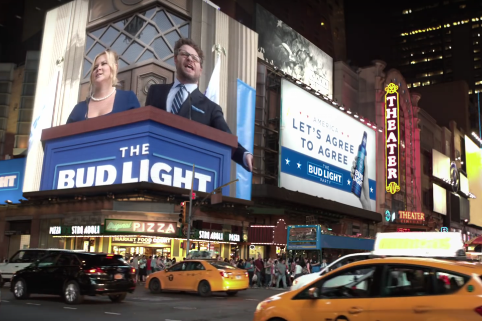 Super bowl 50 ads to nation make america great again the atlantic bud light youtube mozeypictures Gallery