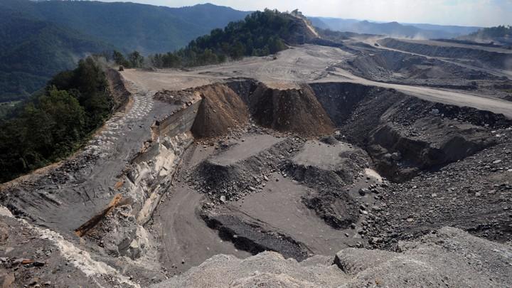 Arch coal strip mines in wv