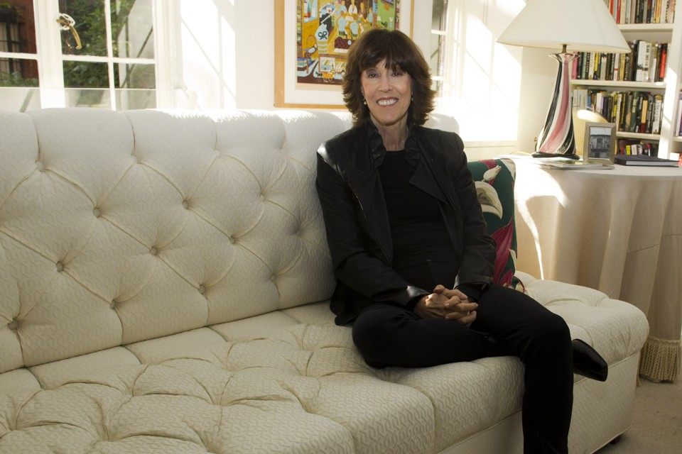 nora ephron in jacob bernstein s everything is copy prophet of  nora ephron at her home in new york in 2010 charles sykes ap