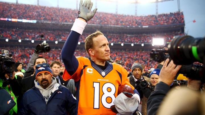 best website ae11a c03aa Denver Broncos Quarterback Peyton Manning Retires - The Atlantic