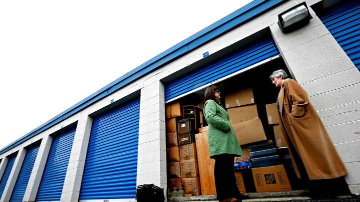 Jim Young / Reuters  sc 1 st  The Atlantic & Finding Solace in a Self-Storage Unit - The Atlantic