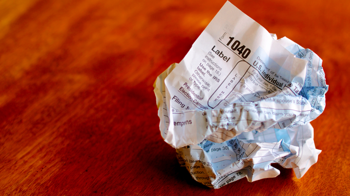 The 10 Second Tax Return The Atlantic