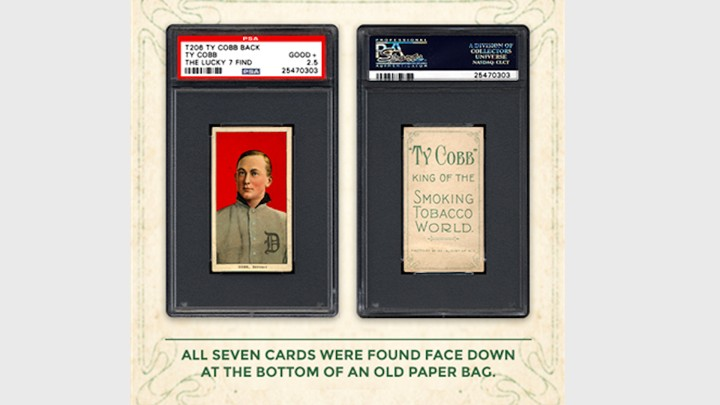 Seven Rare Ty Cobb Baseball Cards Found In An Attic The Atlantic
