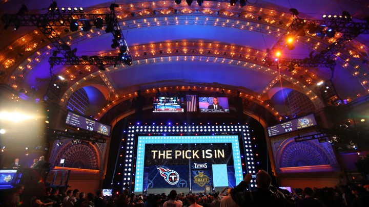 The History of the NFL Draft and ESPN - The Atlantic