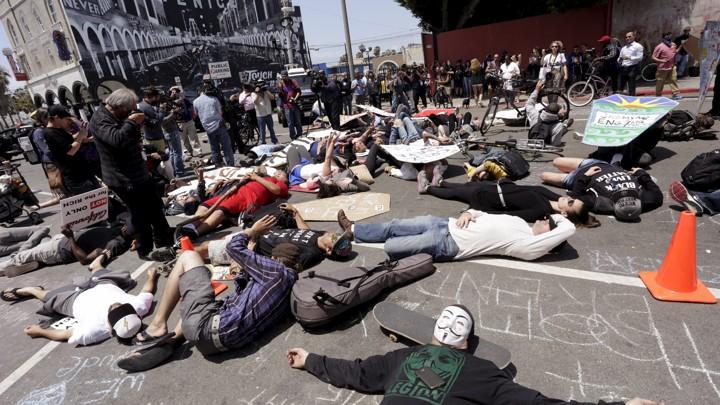 The Los Angeles Police Shooting Deemed Unjustified - The Atlantic