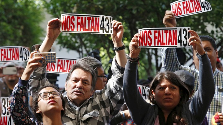 43 missing students in mexico story