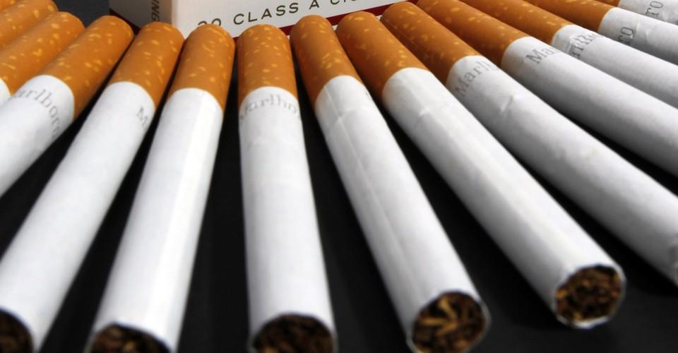 Marlboro cigarettes United Kingdom in the USA