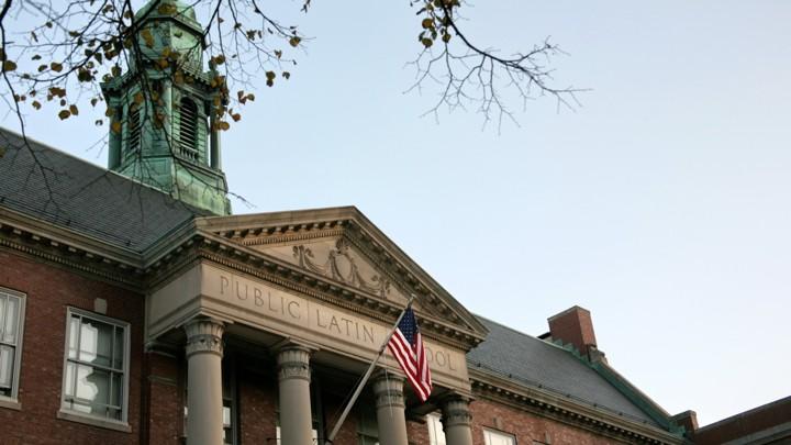 Boston Latin, The Nationu0027s Oldest Public School, In Massachusettscliff1066  / Wikimedia