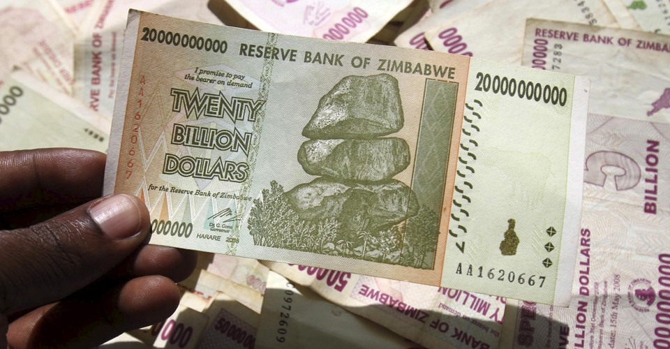 Zimbabwe S Own U Dollar Bills