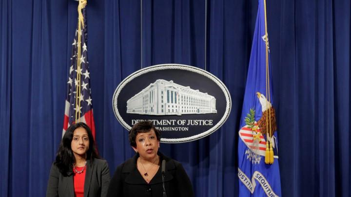 Attorney General Loretta Lynch Announced Lawsuit Against HB2