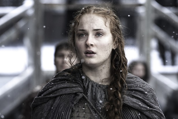 Sophie Turner as Sansa Stark in Game of Thorns