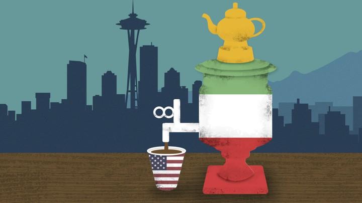 Trading Persian Tea for Seattle Coffee - The Atlantic