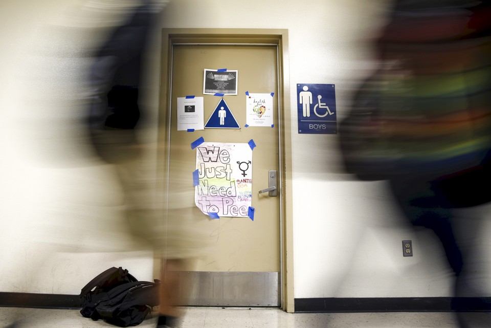 President obama and the republican party politicized the for Transgender bathrooms in schools