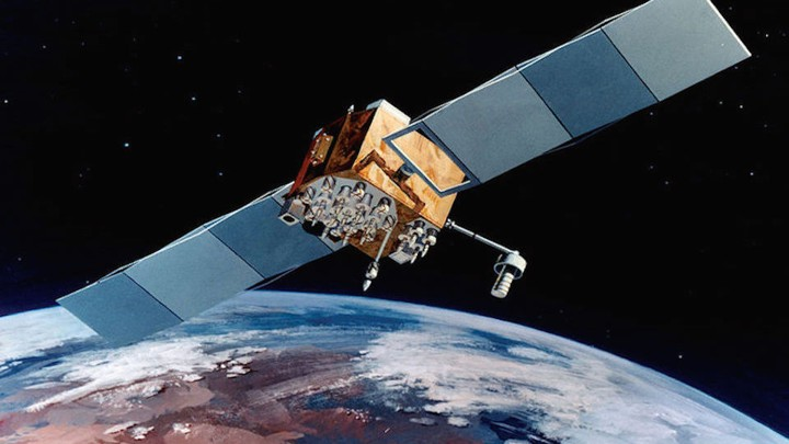 satelitte in orbit