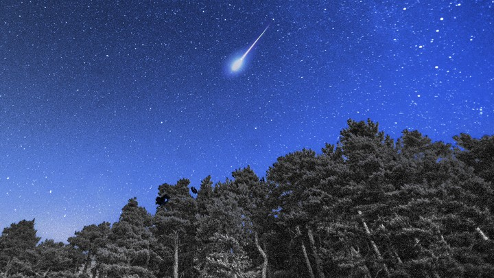 the age of artificial shooting stars is upon us the atlantic
