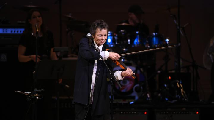 Laurie Anderson on Trump, Hillary, and Why She Hated