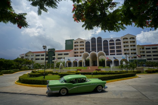 For the first time in more than 55 years, a U.S. company operates a hotel in Havana