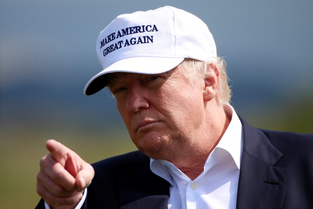 Donald Trump Issues a Warning to Republicans Attending the Republican ...