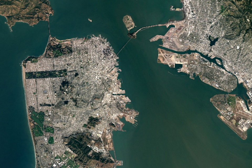Google Maps Gets A New TrillionPixel Cloudless Satellite Map - Google earth map of southeast us