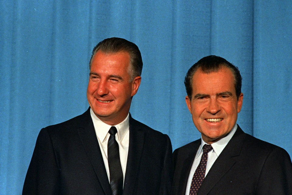 richard nixon s relationship spiro agnew shows why the vice ap