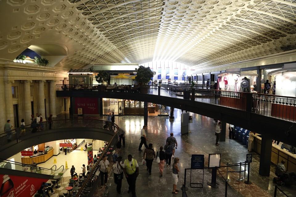 The Evacuation of Washington's Union Station