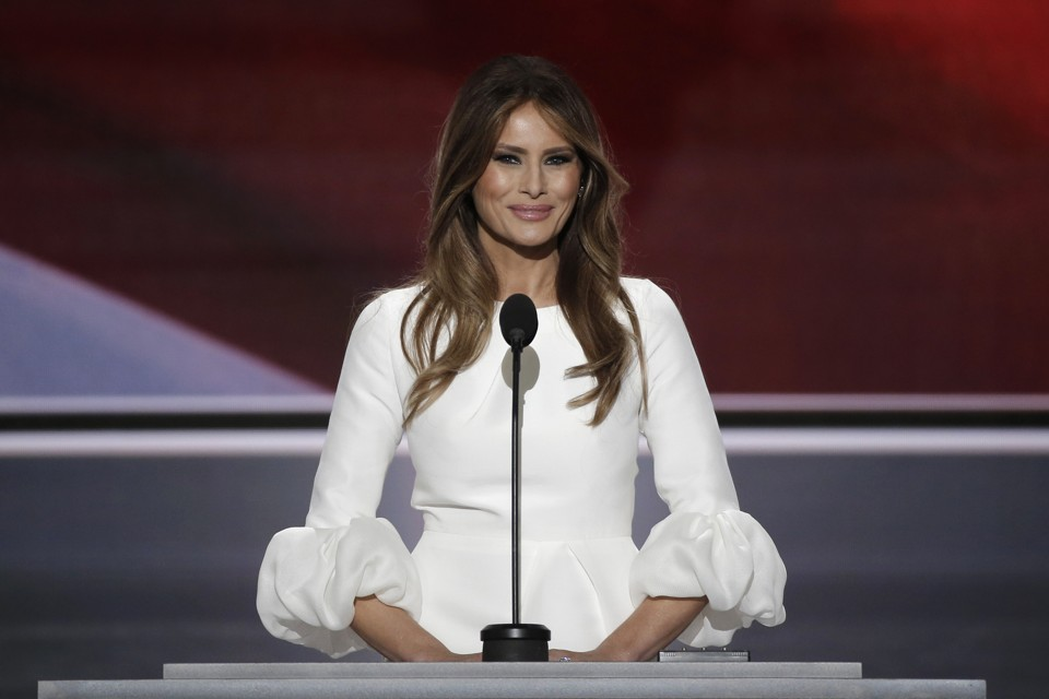 Image result for melania trump speaking