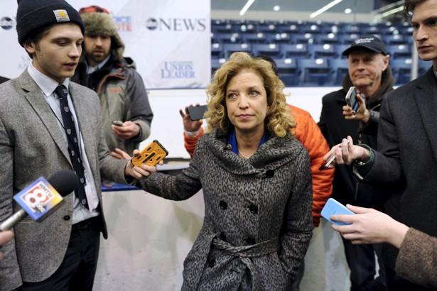 Wasserman Schultz will not gavel in Democratic convention