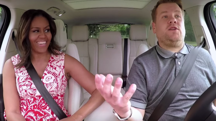 Michelle Obama S Carpool Karaoke With James Corden Is Political