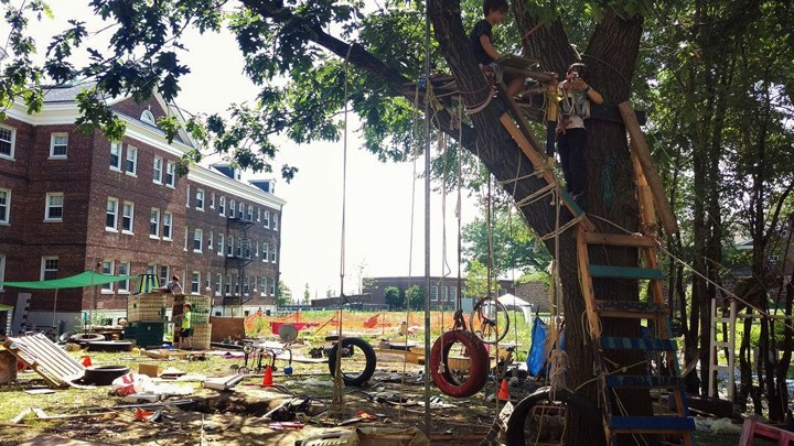The Junk Playground Of New York City >> Junk Playgrounds Provide Children Opportunities For Uninhibited