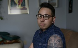 Joaquín Carcaño, a transgender man, is a plaintiff in a lawsuit challenging HB2.