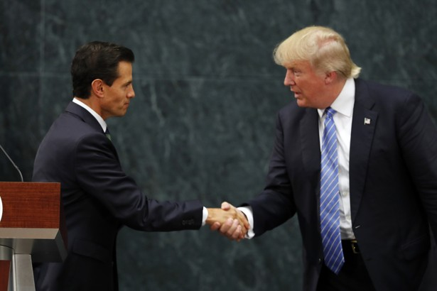 Trump Says He and Mexican President Discussed Wall, Not Payment for It