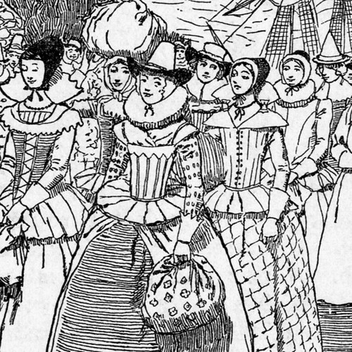 single young women in colonial america were expected to