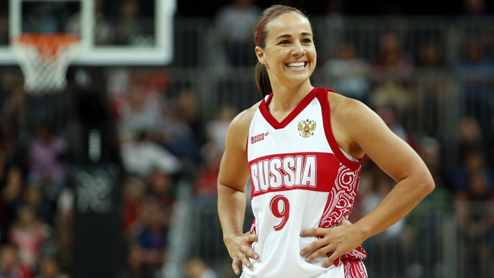 5923391ee43a South Dakota-born Becky Hammon competed for Russia in the 2008  Olympics.Mike Segar   Reuters