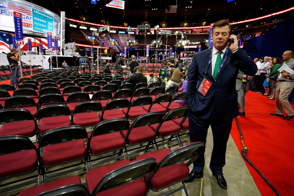 Trump's Former Campaign Chairman's Tight Ties to Putin