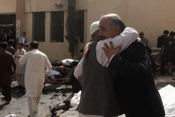 Bombing at a hospital in Pakistani city of Quetta kills 53