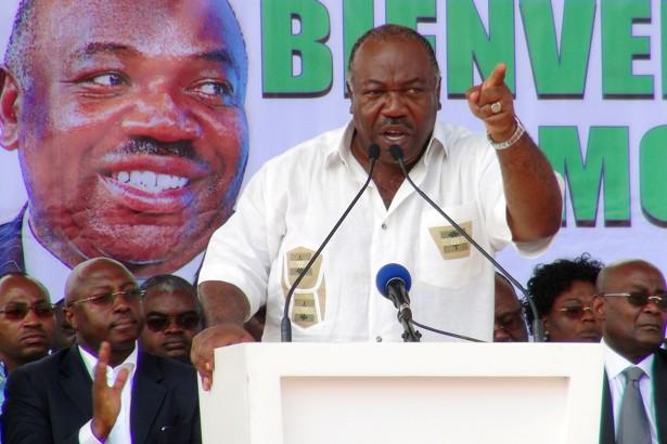 Gabon President-elect President Ali Bongo