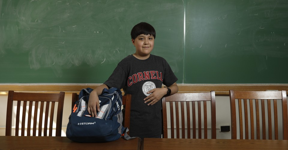Jeremy Shuler, 12, Who Is Now a Freshman at Cornell, was ...