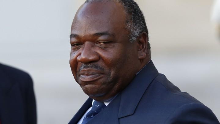 Gabonese President Ali Bongo